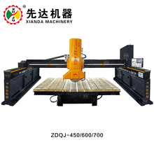 Xianda ZDQJ-600 Laser Bridge Saw Tiltable Type Marble Stone Cutting Machine
