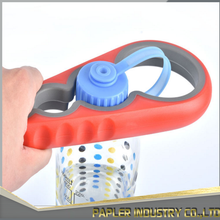 New Design Yellow Rubber Grips Multifunctional Can Opener for Home Use
