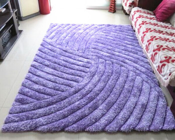 Cheap Wholesale Polyester Purple Area Rugs, Carpets and Rugs