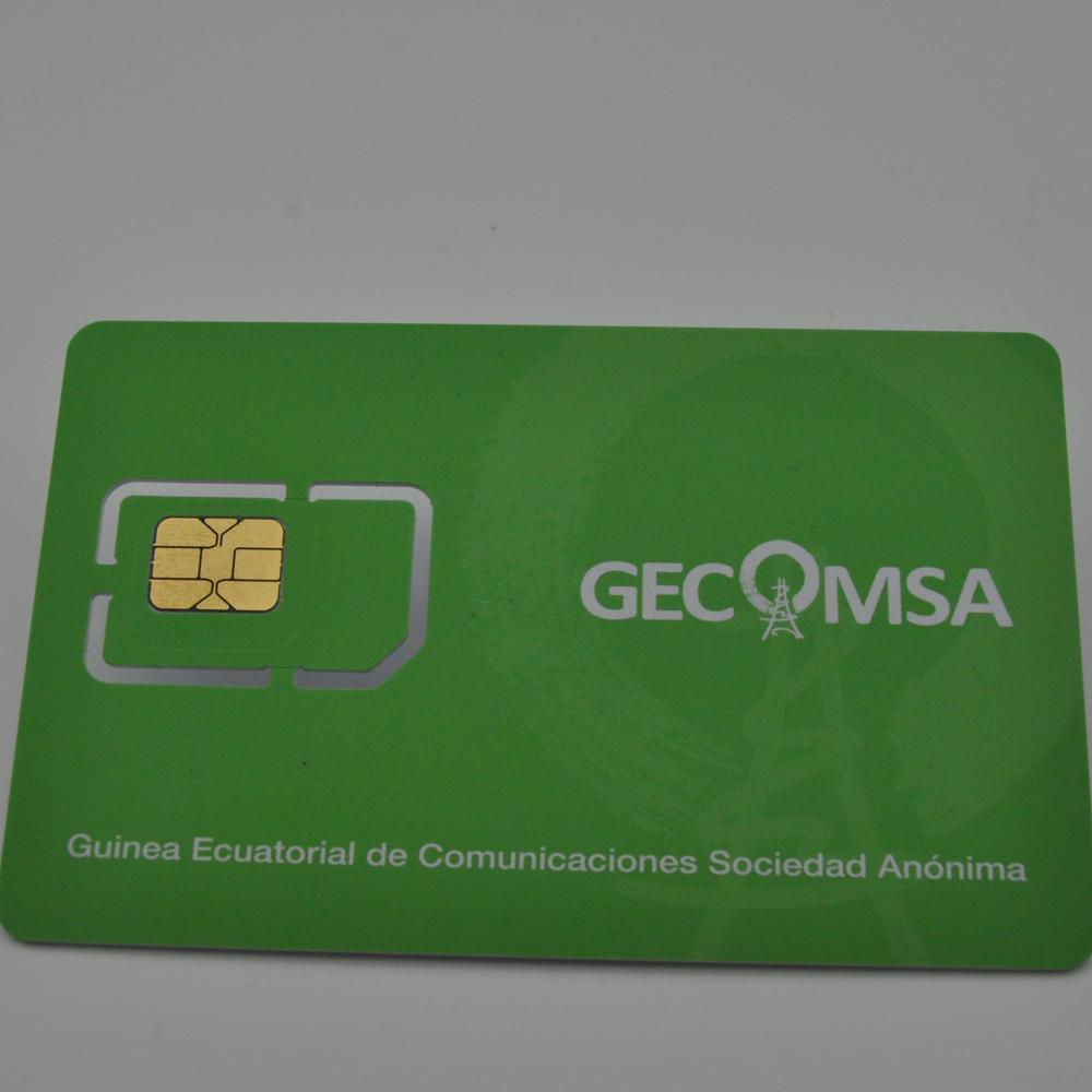 بطاقة SIM الدولية 4G لبرنامج دعامة هاتف محمول بطاقة SIM 128k LTE للمشغل مع طباعة مجانية