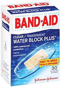 Johnson Johnson / Band-Aid Brand Clear Water Block, 30 Count / JOJ4535