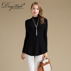 2018 New Fashion Latest Design Best Price Cloth Ladies Cashmere Black Sweater