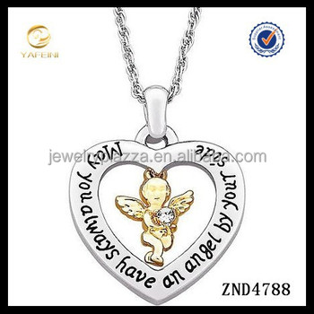 Stylish angel heart locket engraving necklace pendant buy heart stylish angel heart locket engraving necklace pendant aloadofball Choice Image