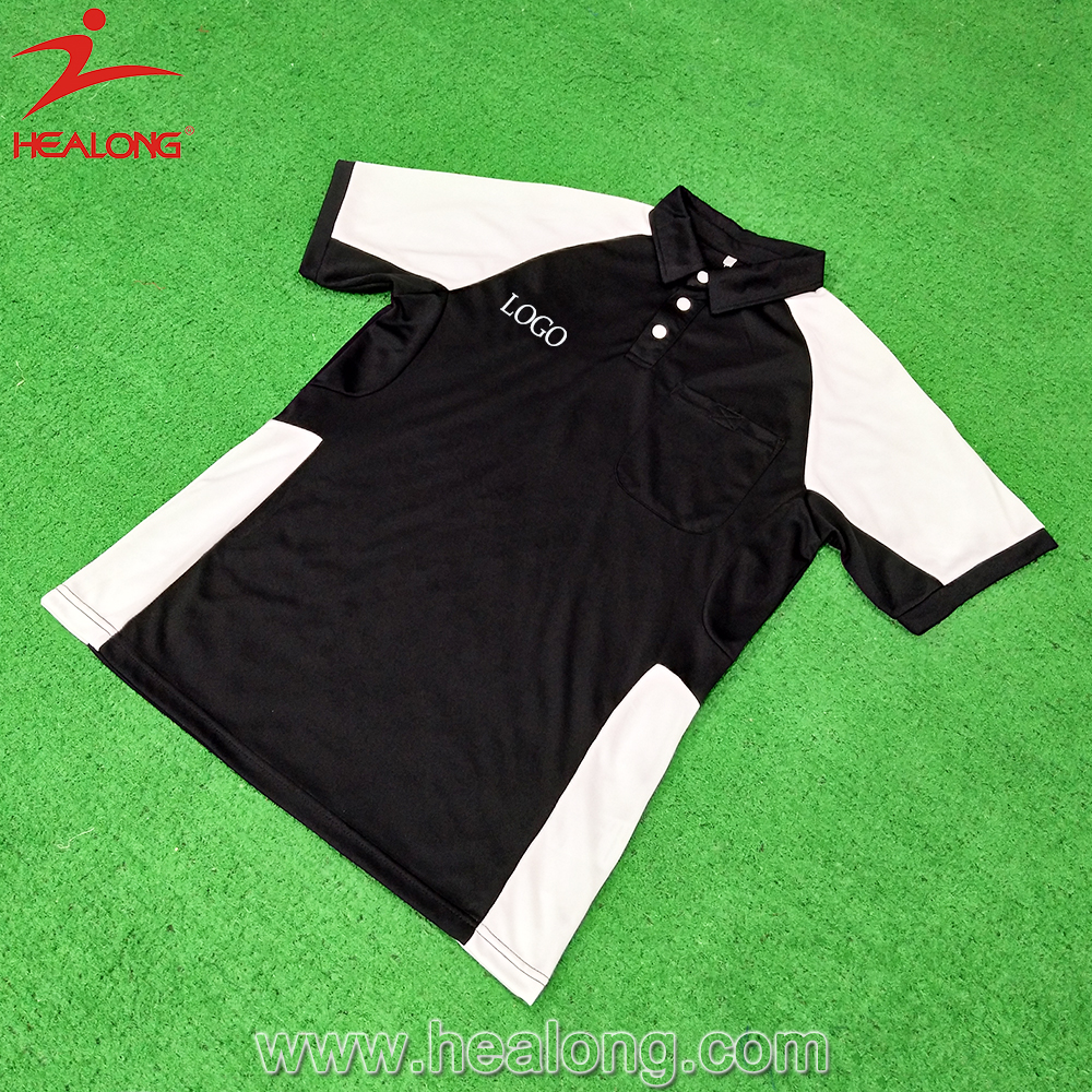 Mens Embroidery Sublimated Custom Polo Shirt Cricket Jersey Buy