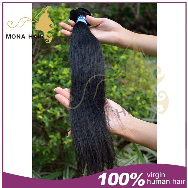 Sample is welcome for test quality 100% raw virgin 1 brazilian bundle straight