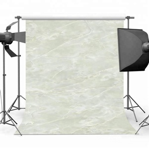Mehofoto 5x7ft Vinyl Green Marble Backdrop Seamless Lightweight Natural Marble Photo Shooting Background
