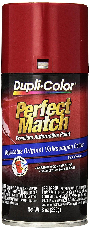Dupli-Color BVW2037 Tornado Red Volkswagen Perfect Match Automotive Paint - 8 oz. Aerosol