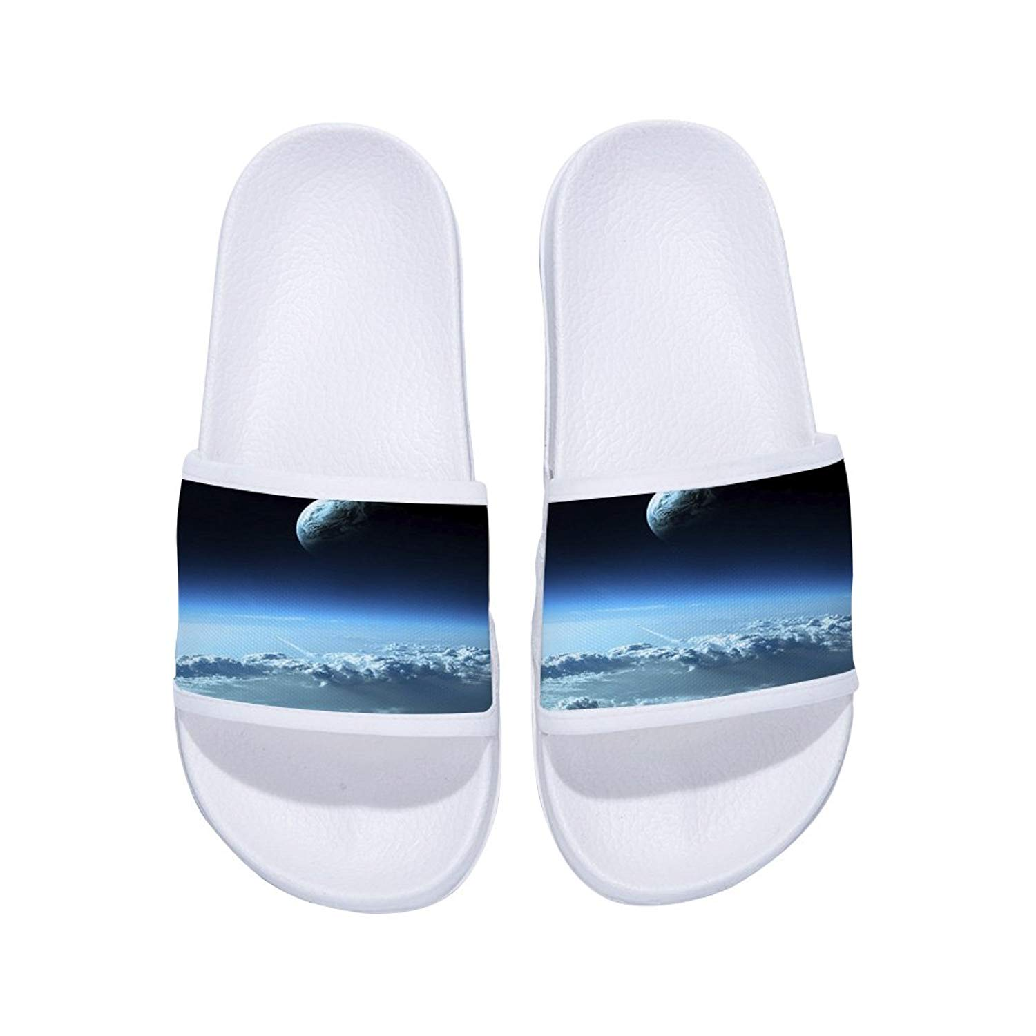 new products d08e7 29ad8 Get Quotations · Jeremy Stone Boys Girls Non-Slip Bathroom Shower Pool  Beach Home Slides Sandal (Little