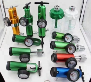 medical equipments CGA870 aluminum medical oxygen pressure regulator for oxygen cylinder