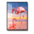 made in China flamingo print Crystal porcelain painting
