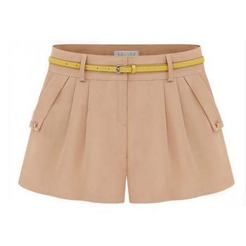 N15029 Casual Loose Chiffon Women Short Pants Lastest Design Custom Ladies  Shorts 6446568626