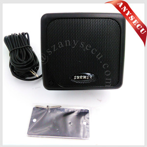 Mini Car speaker P800 External Speaker with powerful voice for Radios KT-8900 TH-9800 IC-2200/IC-2720H/IC-2100/IC-2820H KT-