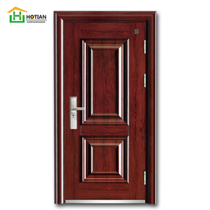 Modern House China new house design bullet proof russia armored door front and back steel security doors high quality soundproof
