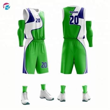 Bran New Hot Basketball Jersey Simple Design Template