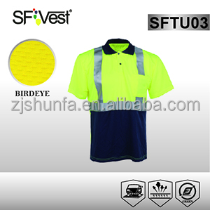 safety t-shirt reflective t-shirt safety polo shirts