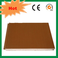 Wood plastic composite board indoor floor sports flooring SGS CE ISO9001