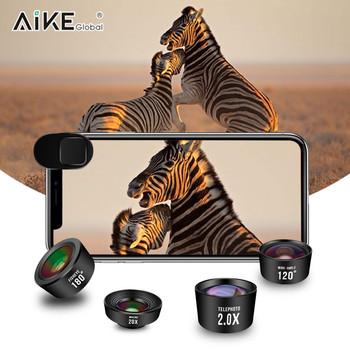 2018 newest professional mobile phone camera lens telephoto fisheye