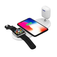 Wireless Charger Fast Charging Fantasy For Samsung Universal Watch Mobile Phone Headset 3 In 1 Car Mount Wireless Charger