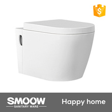 9302 SMOOW 565*355*355 dimensions wc one piece wall hung toilet