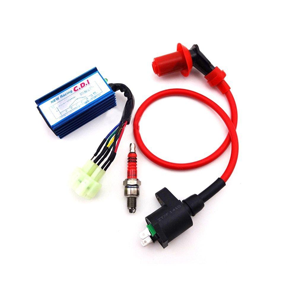 IGNITION ENGINE COVER FLYWHEEL CRF50 XR50 CRF70 XR70 SSR SDG PIT DIRT BIKE EC03