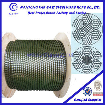 Steel Wire Rope 6*19w For Anchor Line,Lashing Wire,Nantong Top 3 ...
