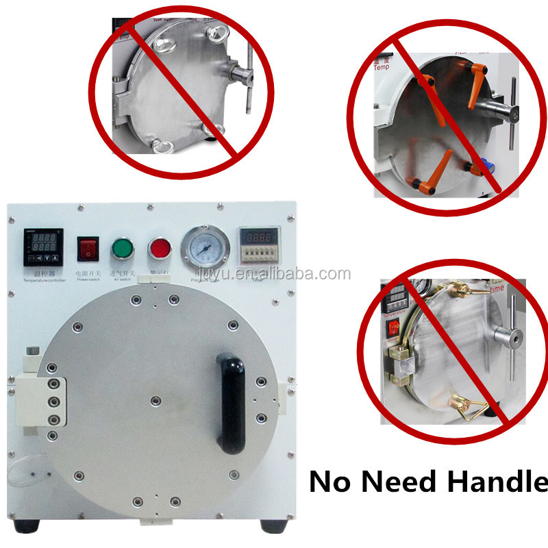 No need handle easy to operate Autoclave air Bubble Remove machine for LCD Touch Screen Digitizer Displays
