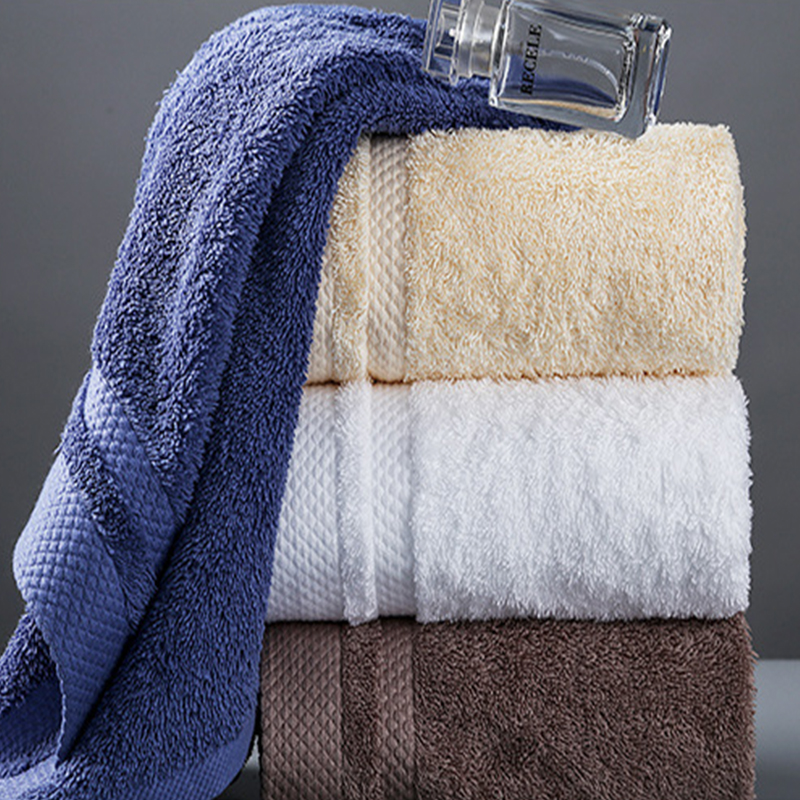 Hotel luxury hand towel 100 combed cotton 16s with embroidery logo,hotel quality grade bath towels online