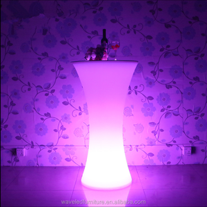 Top sell led bar table 16 colors changing high end led cocktail table for party