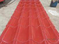 coated decoration metal roofing tile