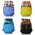 JinoBaby Cloth Diaper Eco Friendly Stay Dry Inner Baby Diapers Washable Ajustable Pocket Diaper for nb