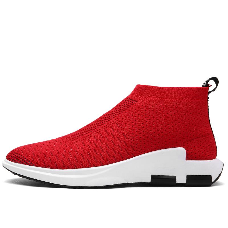Новый дизайн, мужские модные высокие повседневные носки, обувь в 2018 году