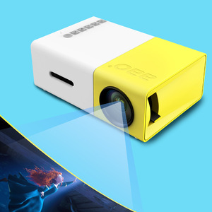 Innovative Product YG-300 LCD Projector Smart Projector HD 1080P Mini LED Projector