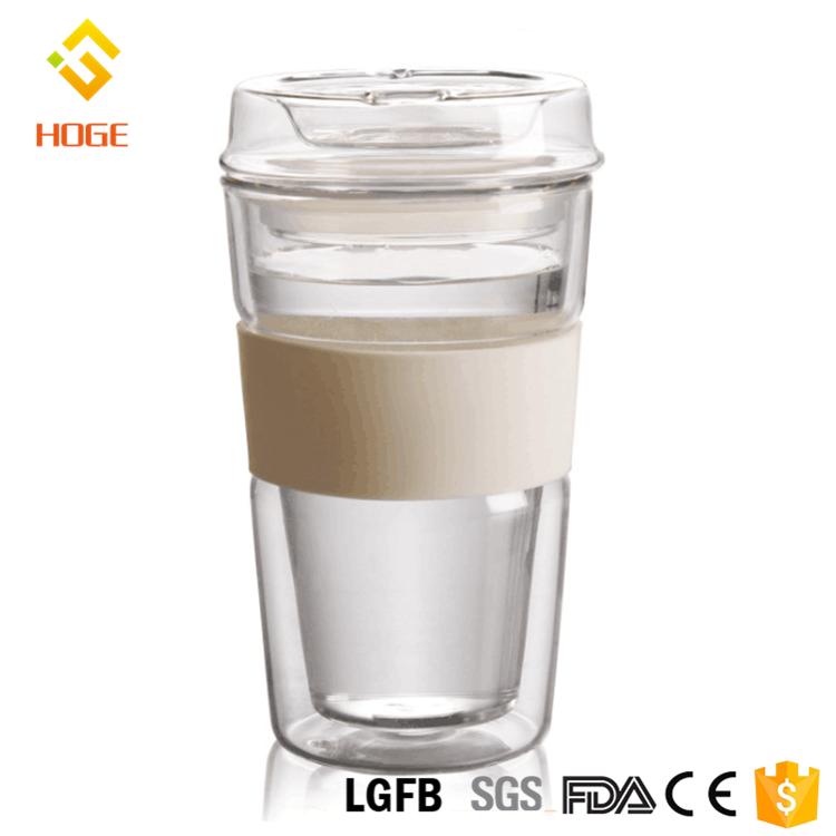 Fashionable Water Wall Tea glass Lid Cup Mug Flow Mug Buy Double Travel Bodum Fast Glass With Coffee vyn0mNw8O