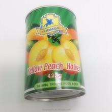 Name Of Imported Fruits Wholesale Canned Food Snack Peaches In A Can