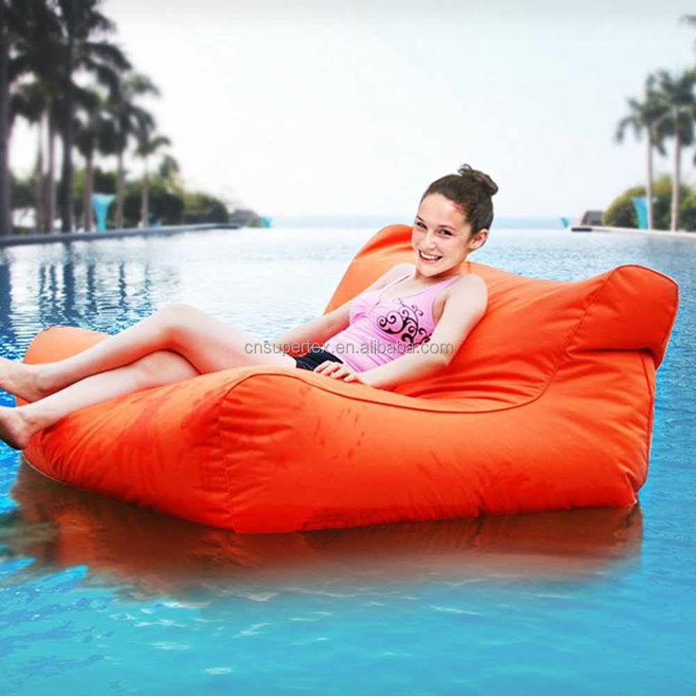 Big size Floating bean bag sofa for swimming pool