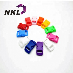 Ready to Ship Bags Accessories Multi Color Custom Logo Small Plastic Quick Side Release Buckles