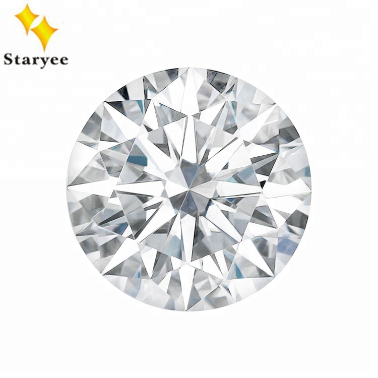 Wholesale Charles Colvard Hearts And Arrows Round Cut Loose Moissanite <strong>Stones</strong>