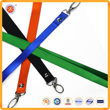 Polyester Business Card Holder Lanyards With Company Logo Design And Sample Fee