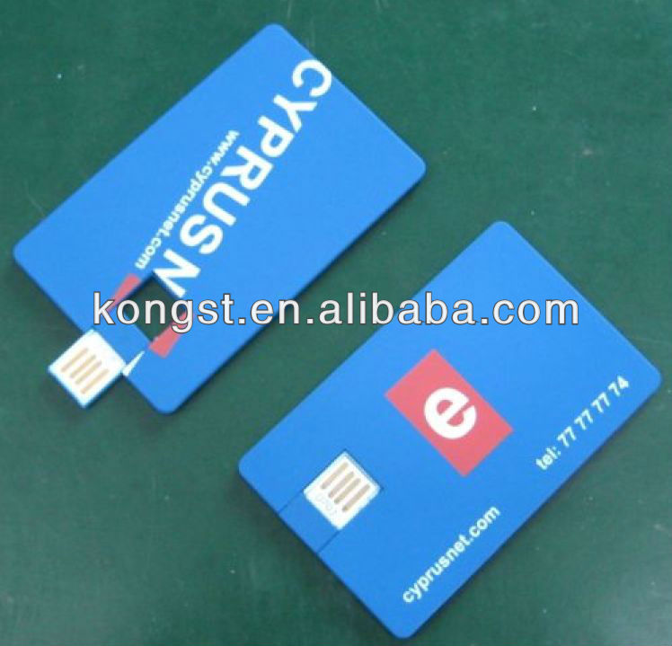 Logo printing, business gift,credit card usb flash drive 1g/2g/4g/8g/16g