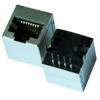 With Integrated 10/100 Base-TX Magnetics KHU1S041F3 LF Single RJ45 Connector Module