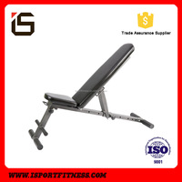 Factory Supply Pre-assembled Folding Fitness Workout Used Sit Up Bench
