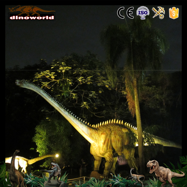 DW-1308 Zigong leading famouse animatronic dinosaur manufacturer for sale