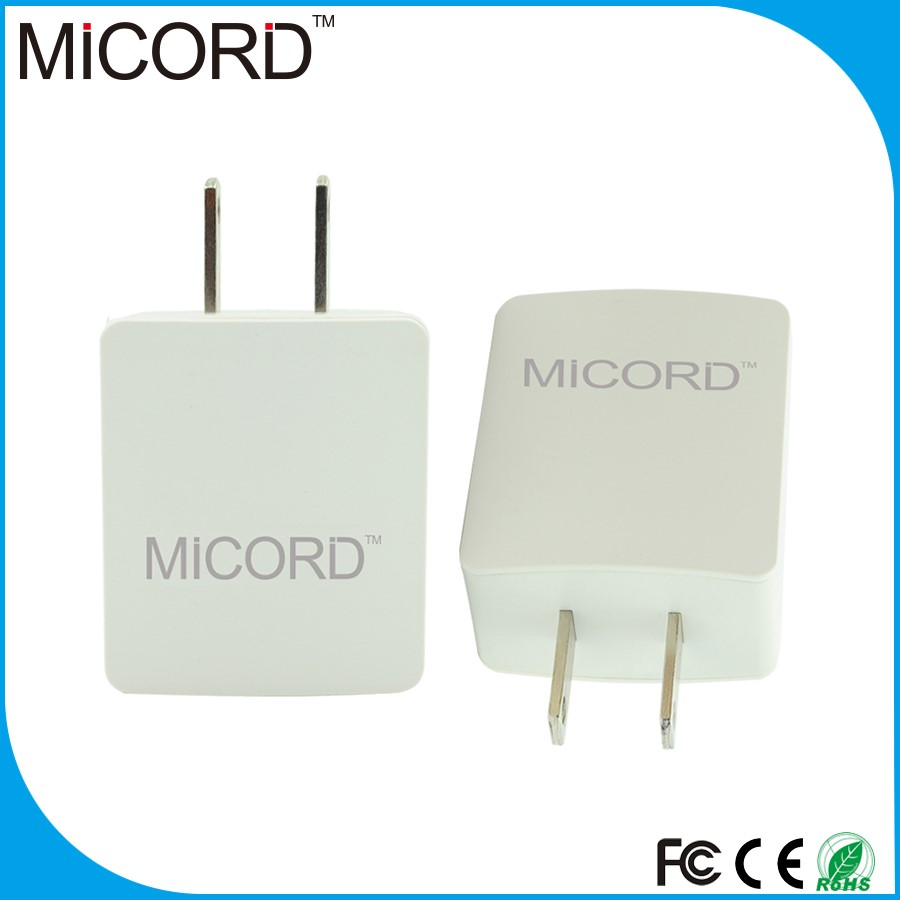 2016 new arrival custom 2 Port Wall Plug Power Adapter ,USB wall charger for mobile accessories