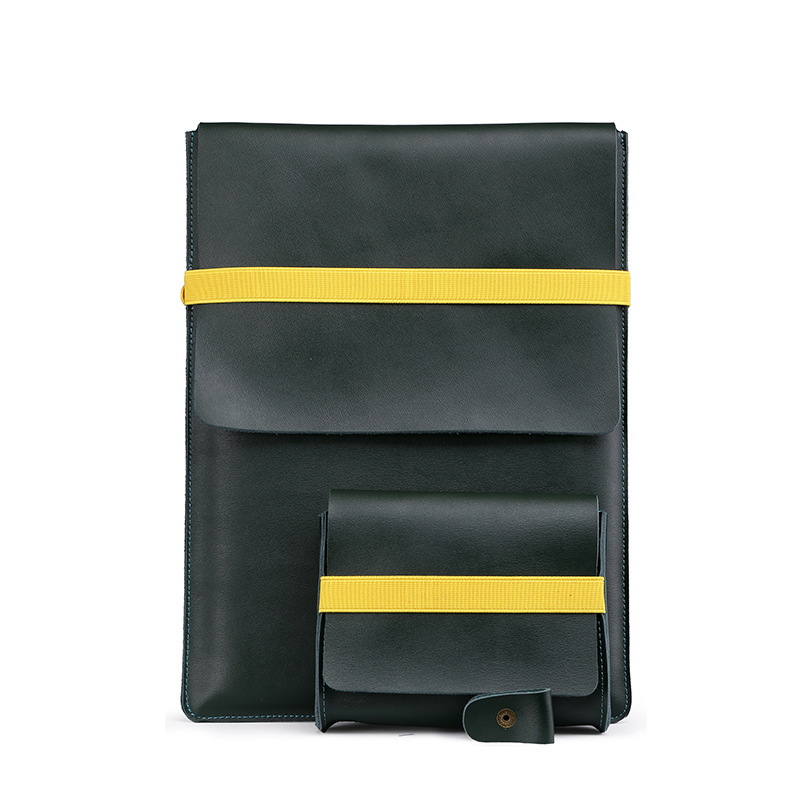 carrying bag for Macbook all models leather sleeve