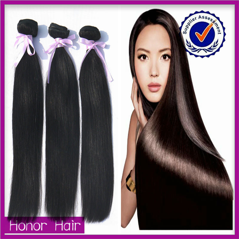 Fashion virgin non braid indian remy human hair, unprocessed free hair weave samples