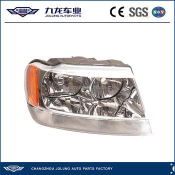 99 04 Jeep Grand Cherokee Head Lamp Headlight