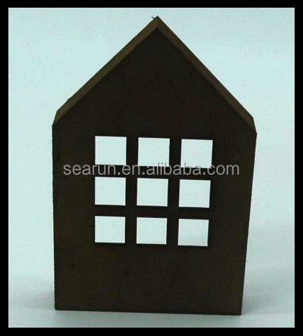 Wholesale custom shape wooden christmas decoration gift