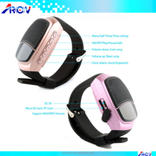 B90 Sports Music Wireless BT watch Speaker with Hands-free Call TF card playing mp3/wav format music