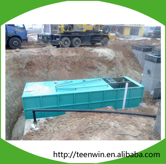China Mini Sewage Treatment Plant Package Waste Water Treatment Plant Small Wastewater Treatment Plant