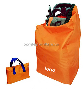 Ultra Durable Baby Car Seat Travel Bag With Shoulder Strap For Storage And Airport Gate Check